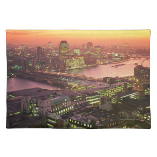 Illuminated Cityscape Placemat