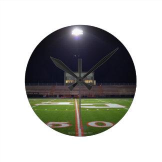 Illuminated Football Field Clocks