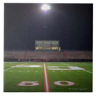 Illuminated Football Field Tile