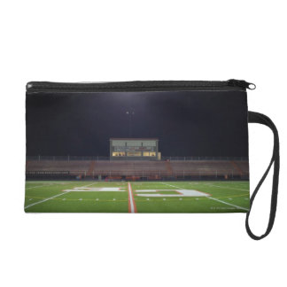 Illuminated Football Field Wristlet