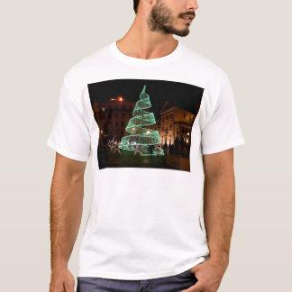 Illuminated Green Christmas Tree T-Shirt