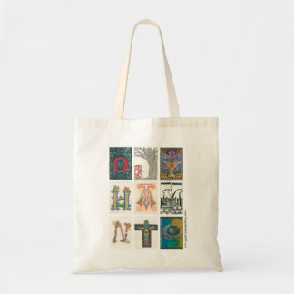 Illuminated Letters Tote Bag
