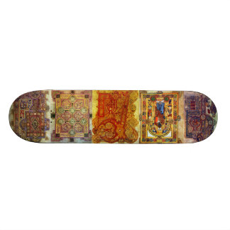Illuminated Manuscript Board Custom Skateboard