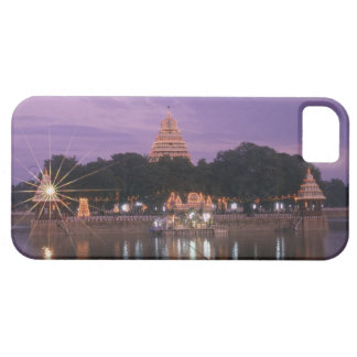 Illuminated Mariamman Teppakulam tank, Madurai, Barely There iPhone 5 Case