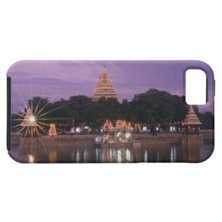 Illuminated Mariamman Teppakulam tank, Madurai, iPhone 5 Cover