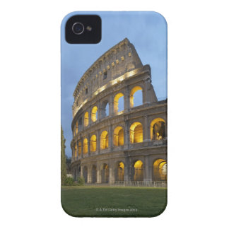 Illuminated section of the Colosseum at dusk. iPhone 4 Case-Mate Cases