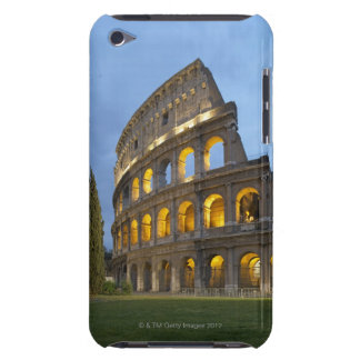 Illuminated section of the Colosseum at dusk. iPod Touch Case-Mate Case
