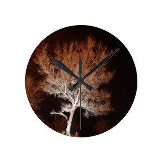 Illuminated Tree Clock