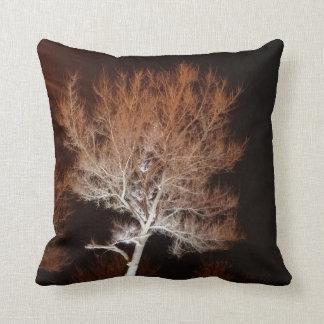 Illuminated Tree Throw Pillow Cushions