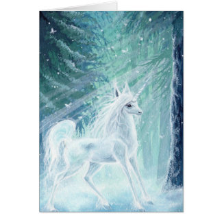 Illuminated ~ Unicorn Greeting Card