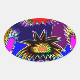 Illuminated Vas 23 Oval Sticker