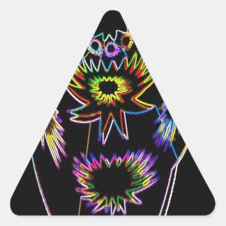 Illuminated Vas Triangle Sticker
