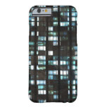 Illuminated windows pattern barely there iPhone 6 case