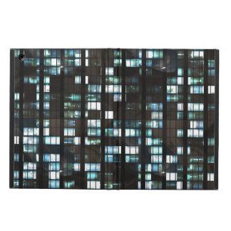 Illuminated windows pattern case for iPad air
