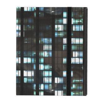 Illuminated windows pattern covers for iPad