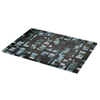 Illuminated windows pattern cutting board