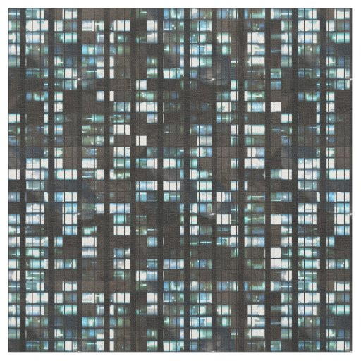 Illuminated windows pattern fabric