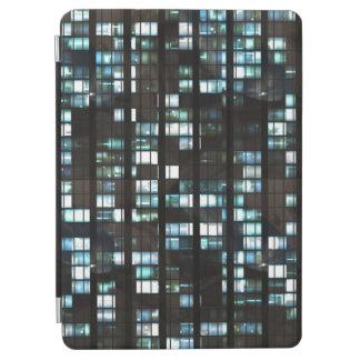 Illuminated windows pattern iPad air cover