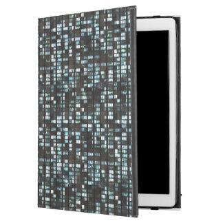 """Illuminated windows pattern iPad pro 12.9"""" case"""