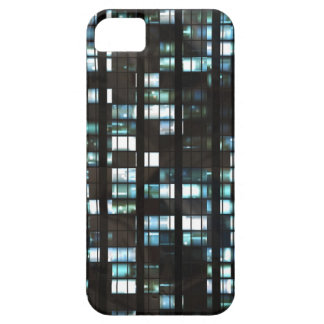 Illuminated windows pattern iPhone 5 covers