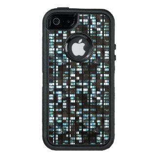 Illuminated windows pattern OtterBox defender iPhone case