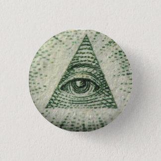 illuminati 3 cm round badge