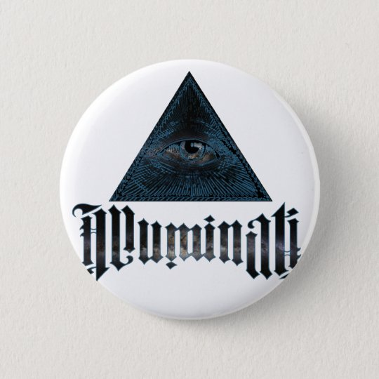 Illuminati 6 Cm Round Badge