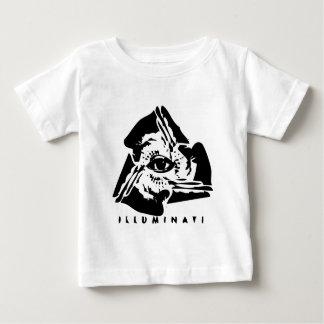 Illuminati All Seeing Eye Baby T-Shirt