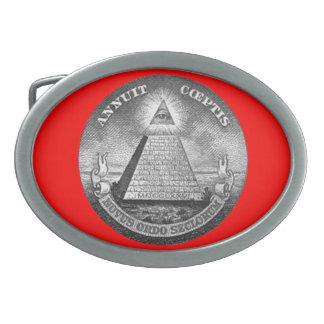 Illuminati All Seeing Eye Belt Buckle