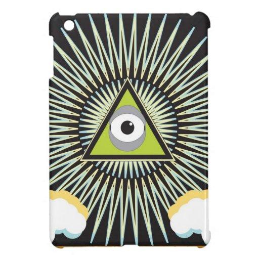 Illuminati All Seeing Eye NWO New World Order iPad Mini Case