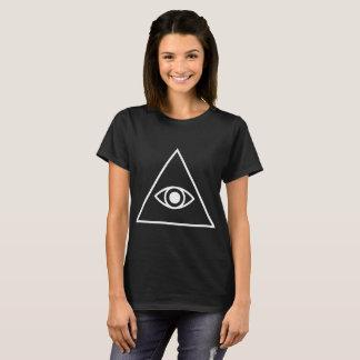 Illuminati Confirmed Conspiracy Control Pyramid Ey T-Shirt