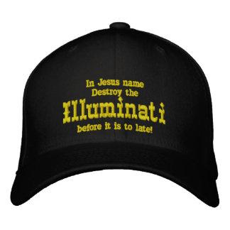 Illuminati Embroidered Hats