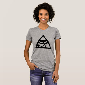 Illuminati Eye Of Horus Women's Alternative T T-Shirt