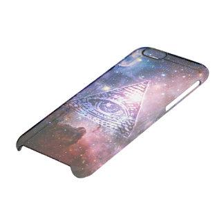 Illuminati nebula clear iPhone 6/6S case