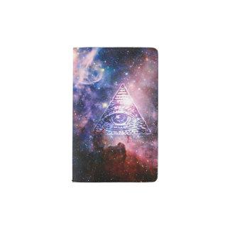 Illuminati nebula pocket moleskine notebook