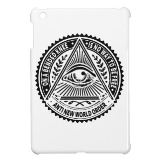 Illuminati - On A Bended Knee Is No Way To Be Free iPad Mini Cover