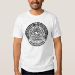 Illuminati - On A Bended Knee Is No Way To Be Free T Shirts