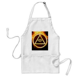 Illuminati on Fire Standard Apron