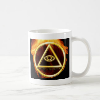 Illuminati on Fire Coffee Mug