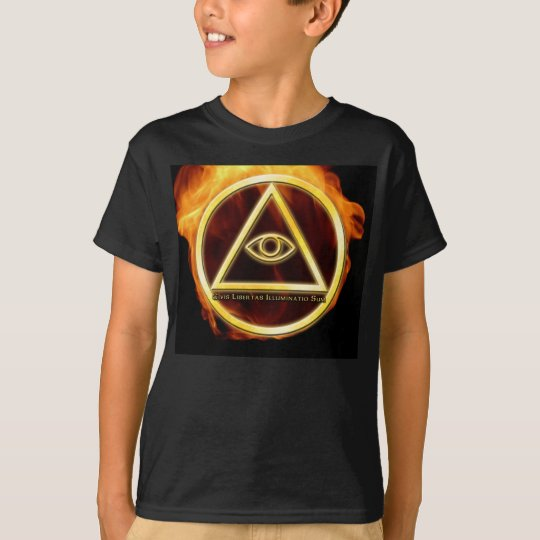 Illuminati on Fire T-Shirt