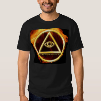 Illuminati on Fire Tshirt