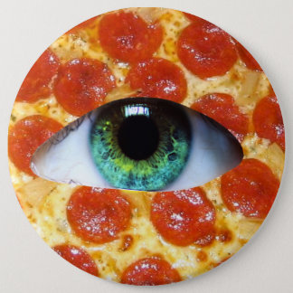 Illuminati Pizza 6 Cm Round Badge