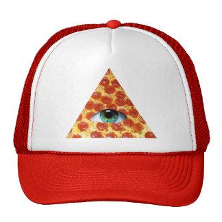 Illuminati Pizza Cap