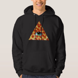 Illuminati Pizza Hoodie