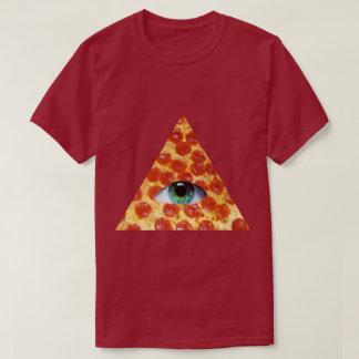 Illuminati Pizza T-Shirt