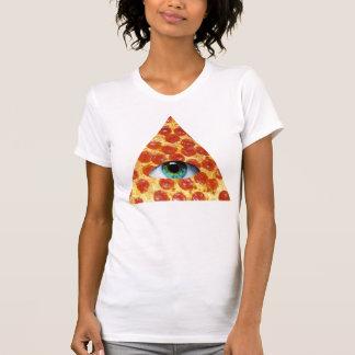 Illuminati Pizza Tee Shirts