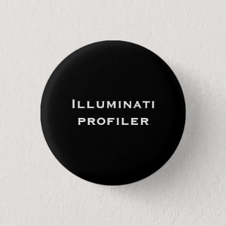Illuminati profiler 3 cm round badge