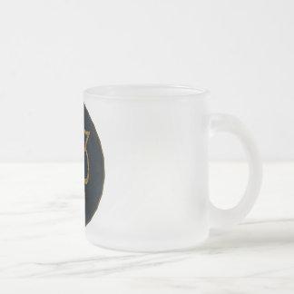Illuminatigon 23 frosted glass mug