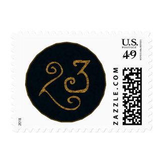 Illuminatigon 23 postage stamps