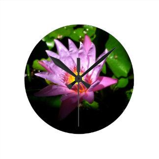 Illuminating Lotus Clock
